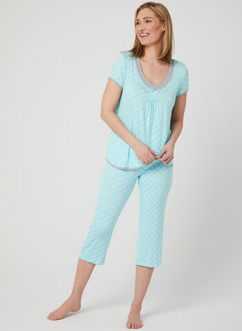 René Rofé - Pyjama Set, Blue, hi-res,  Spring 2019, pyjama