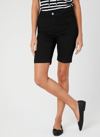 Alison Sheri - Bermuda Shorts, Black, hi-res