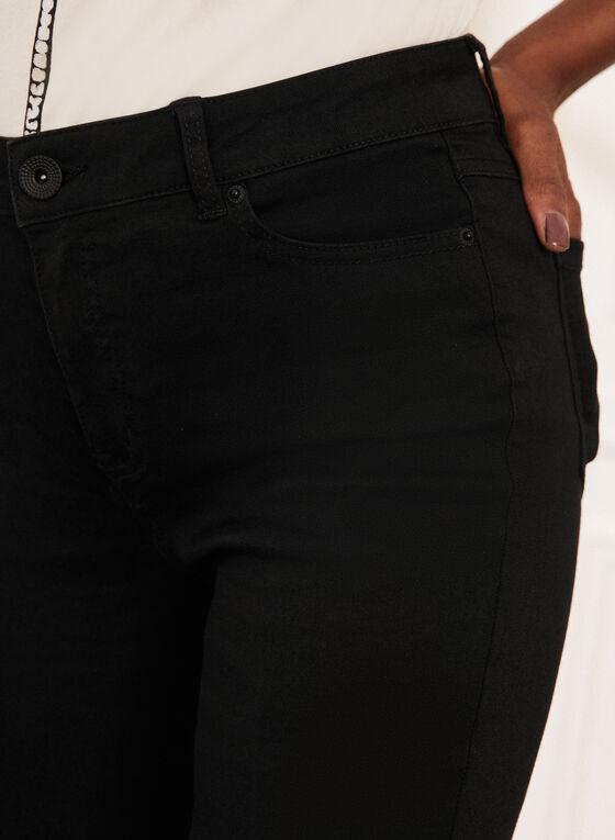 Jeans à jambe droite , Noir