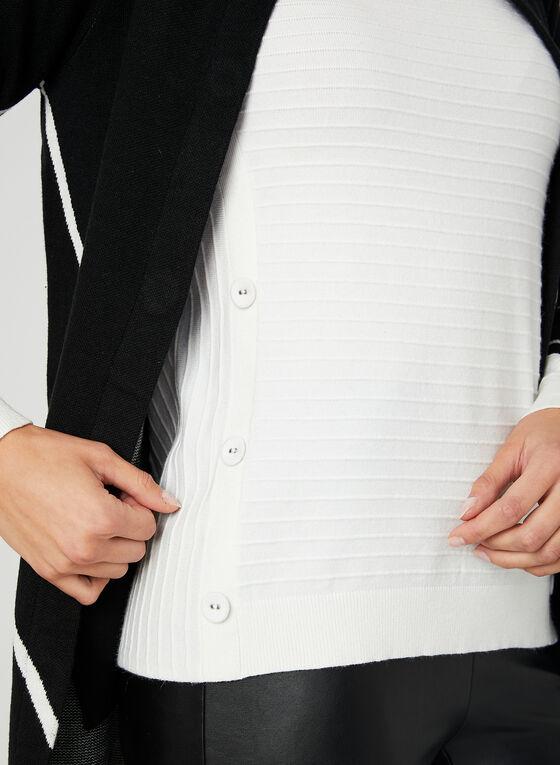 Ottoman Knit Sweater, Off White