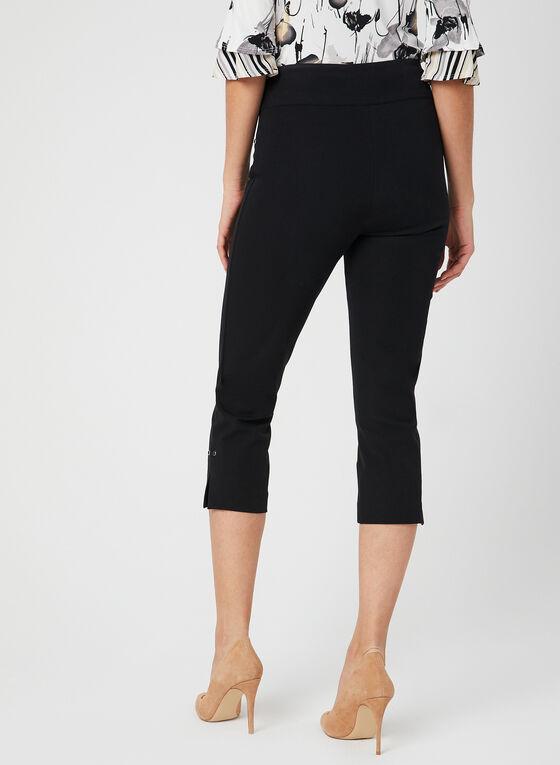 Pull-On Capri Pants, Black, hi-res