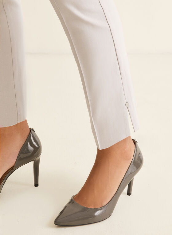 City Fit Slim Leg Pants, Grey