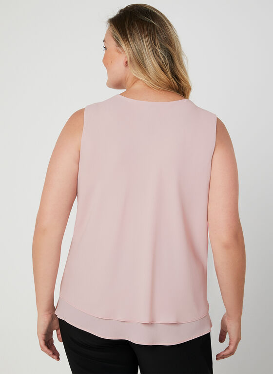 Frank Lyman - Sleeveless Blouse, Pink