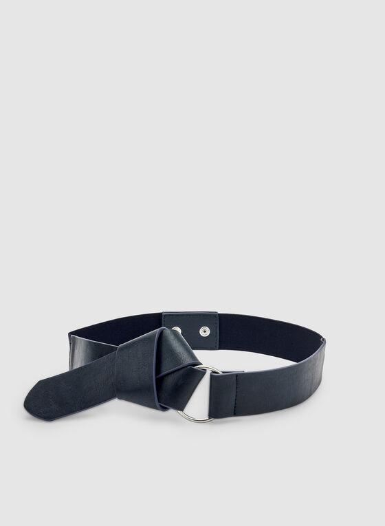 Knot Tie Belt, Blue, hi-res