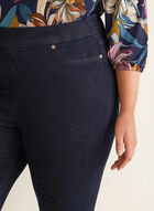Carreli Jeans - Capri pull-on en denim, Bleu