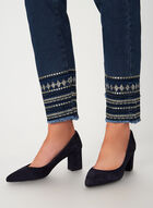 G.G. Jeans - Tribal Slim Leg Jeans, Blue, hi-res