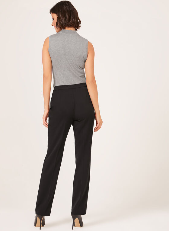 Signature Fit Straight Leg Pants, Black