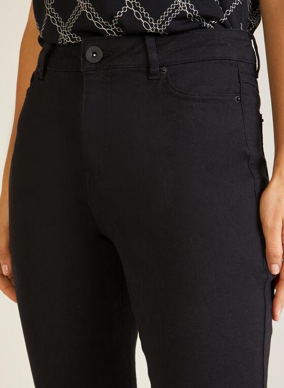 Straight Leg Jeans, Black