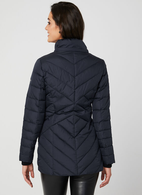Novelti - Reflective Down Coat, Blue