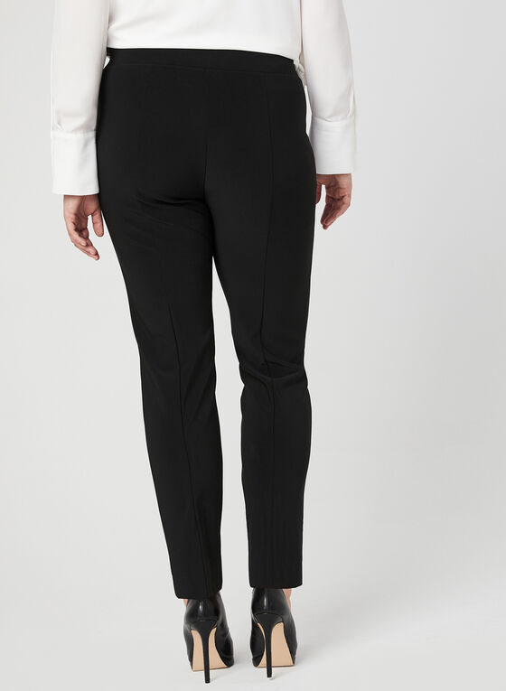 Joseph Ribkoff - Modern Fit Straight Leg Pants, Black