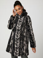 Reversible A-Line Coat, Black, hi-res
