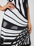 Reversible Jersey Dress, Black, hi-res