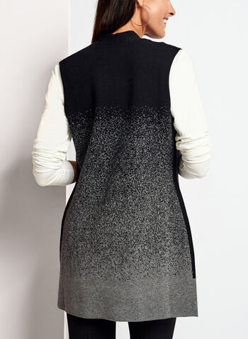 Sleeveless Knit Cardigan , , hi-res