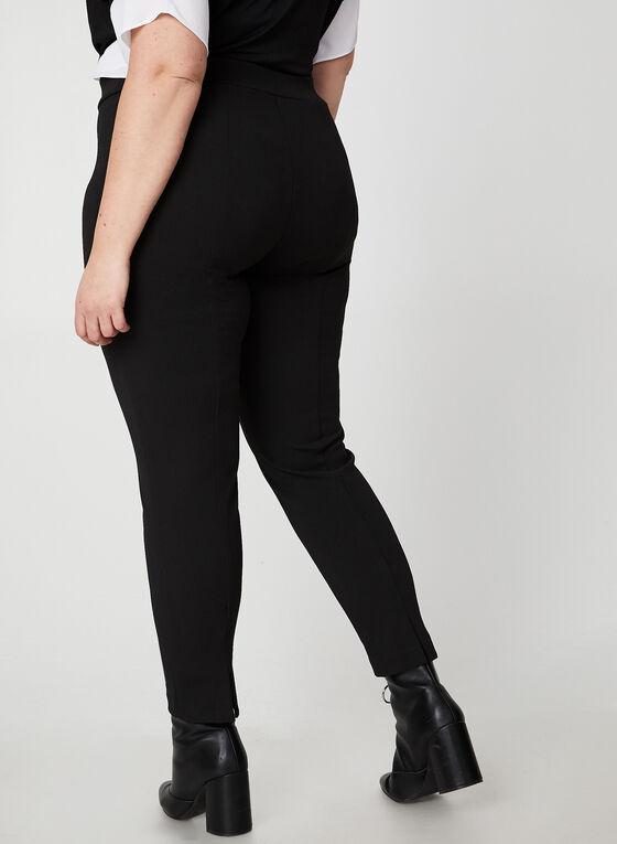 City Fit Crepe Pants, Black