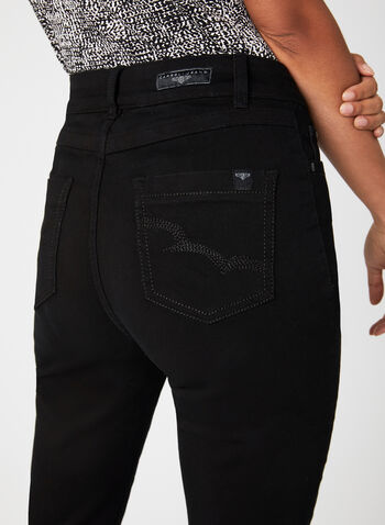 Carreli Jeans – Angela Straight Leg Denim Pants, Black, hi-res