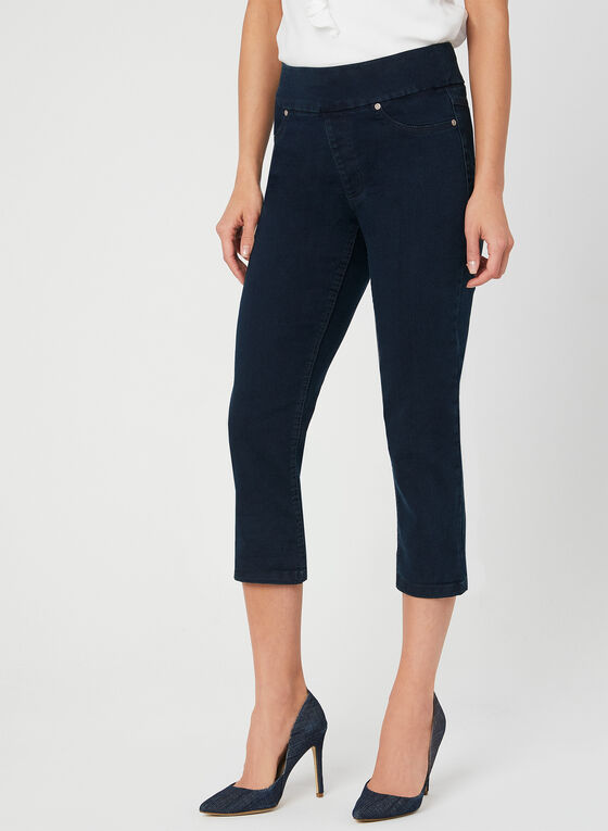 Carreli - Pull On Capris, Blue, hi-res