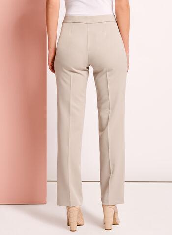 Pantalon coupe moderne à jambe droite, , hi-res