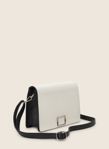 Small Crossbody Bag , Black,  purse, bag, handbag, crossbody bag, two-toned, small bag, spring 2020, summer 2020