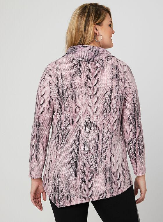 Tunique à imprimé tricot, Multi, hi-res