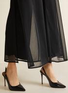 Pantalon coupe moderne à jambe large, Noir