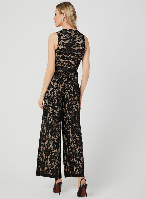 Marina - Lace Jumpsuit, Black, hi-res