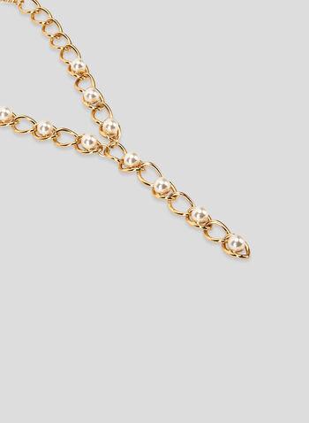 Link Y-Necklace, Off White, hi-res