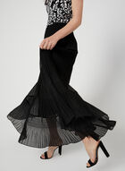 Alison Sheri - Tiered Maxi Skirt, Black, hi-res