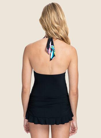 Profile by Gottex - Maillot de bain une pièce à motif floral , Noir,  maillot, maillot de bain, imprimé floral, automne hiver 2020 une pièce, profile by gottex,