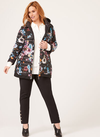 Nuage - Floral Lightweight Packable Down Coat
