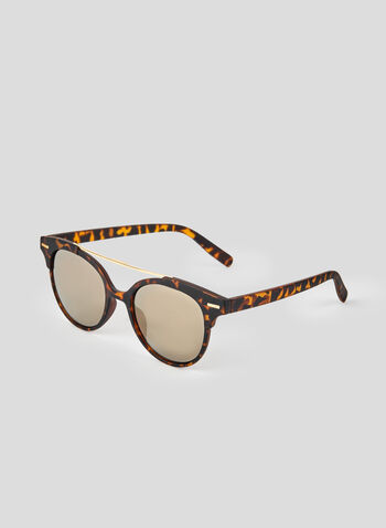 Tortoise Shell Sunglasses, Brown, hi-res,