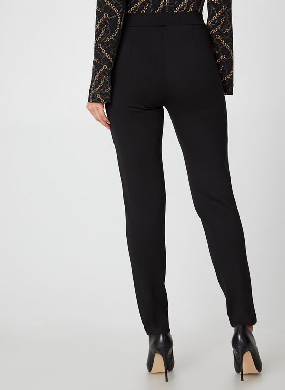Pleather Leggings, Black, hi-res