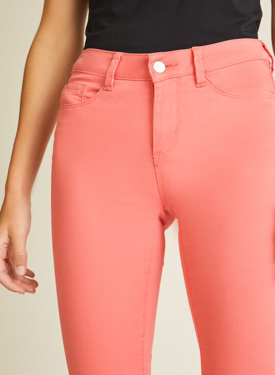 Blossom - Denim Capris, Orange