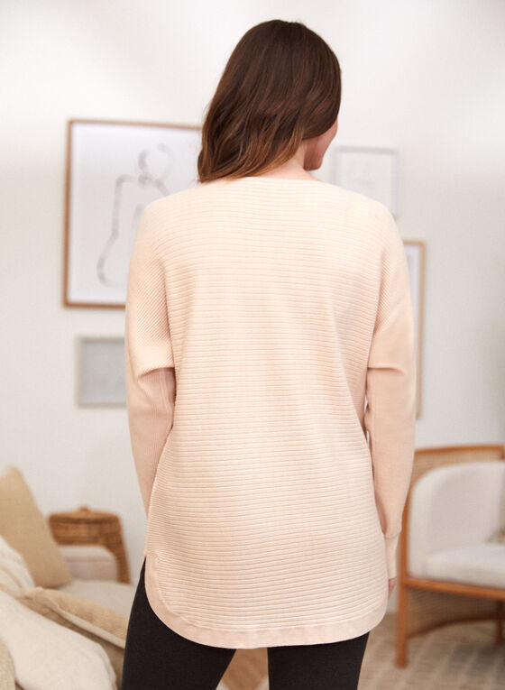 Button Detail Sweater, Off White