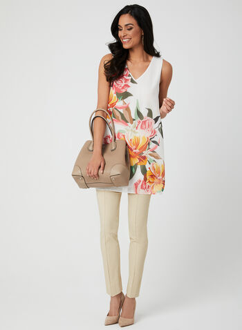 5941dc99e95 Floral Print Sleeveless Tunic