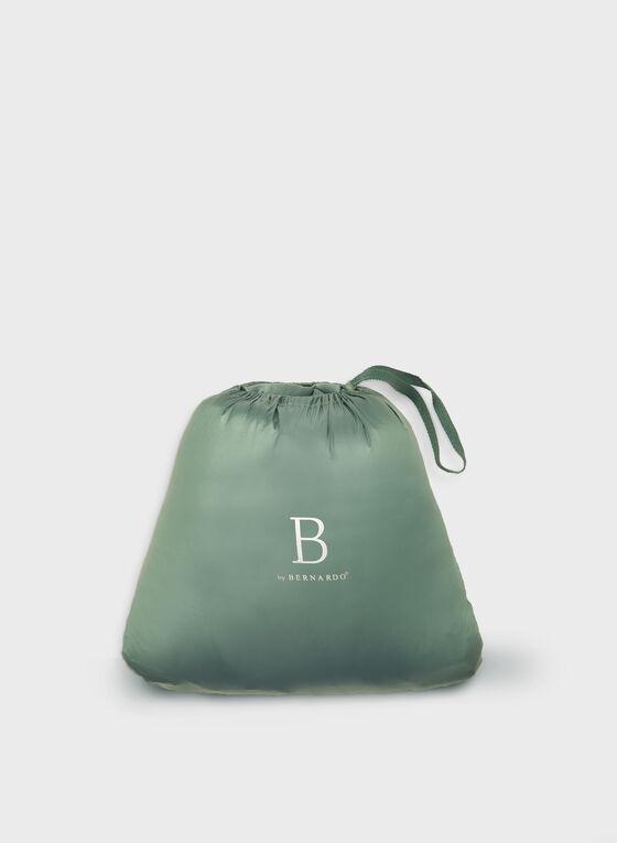 Bernardo - Manteau compressible EcoPlume™, Bleu