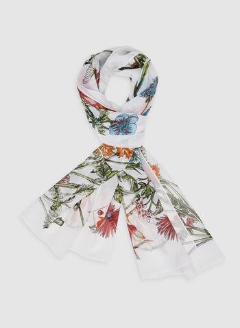 Foulard léger motif nature, Multi, hi-res