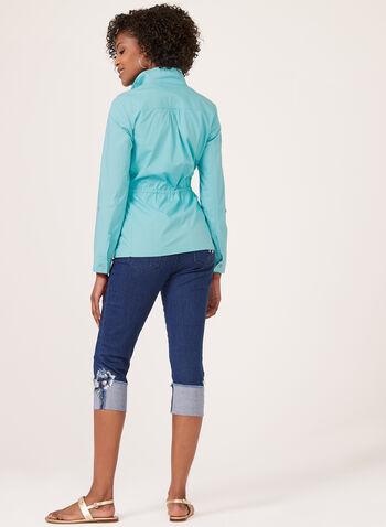 Tribal - Lightweight Jacket, Blue, hi-res