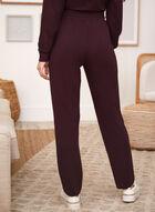 Straight Leg Pull-On Pants, Purple