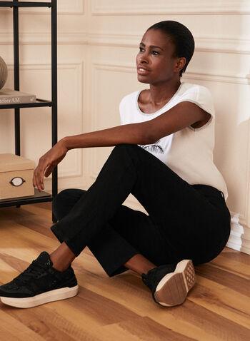 Straight Leg Jeans, Black,  jeans, straight leg, fall winter 2020