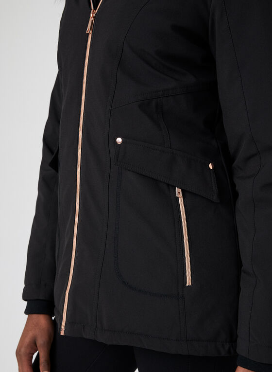 Chillax - Manteau compressible Artic-Loft® , Noir, hi-res