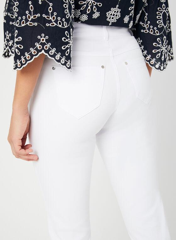 Capri coupe signature à jambe étroite, Blanc, hi-res