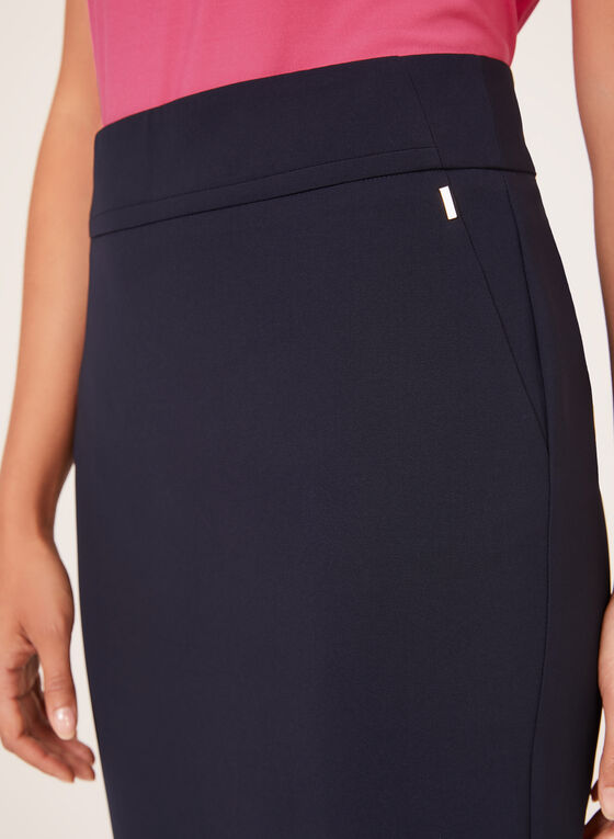 Straight Pencil Skirt, Blue, hi-res