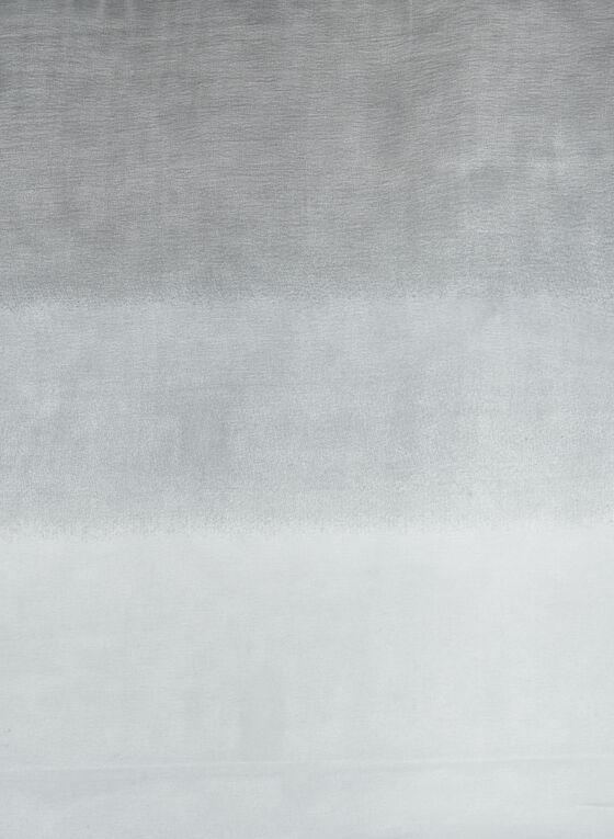Gradient Colour Scarf, Grey, hi-res