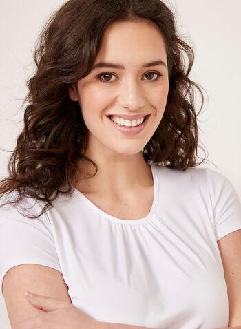 Hamilton - Snow Leopard Print Pajamas, White, hi-res
