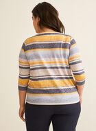 Drawstring Burnout T-Shirt, Multi