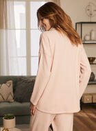 Long Sleeve Sweater Knit Top, Pink