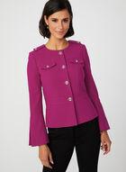 Bell Sleeve Cropped Jacket, Pink, hi-res