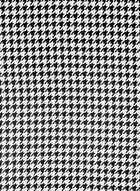 Foulard carré motif pied-de-poule, Noir, hi-res