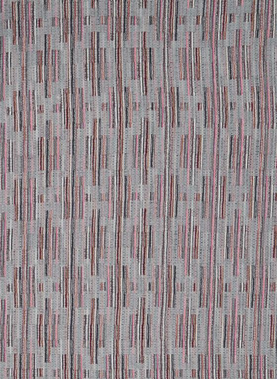 Foulard à imprimé abstrait, Gris