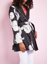 Novelti Reversible Floral Print Raincoat, , hi-res